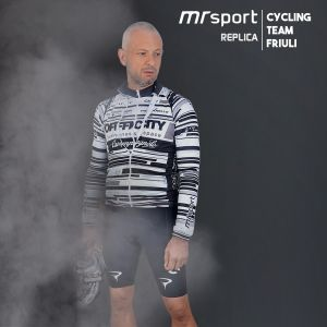 Bike jersey Camouflage grigio